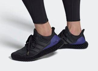 adidas Ultra 4D OG Black Purple FW7089 Release Date