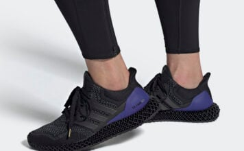 adidas Ultra 4D OG Black Purple FW7089 Release Date