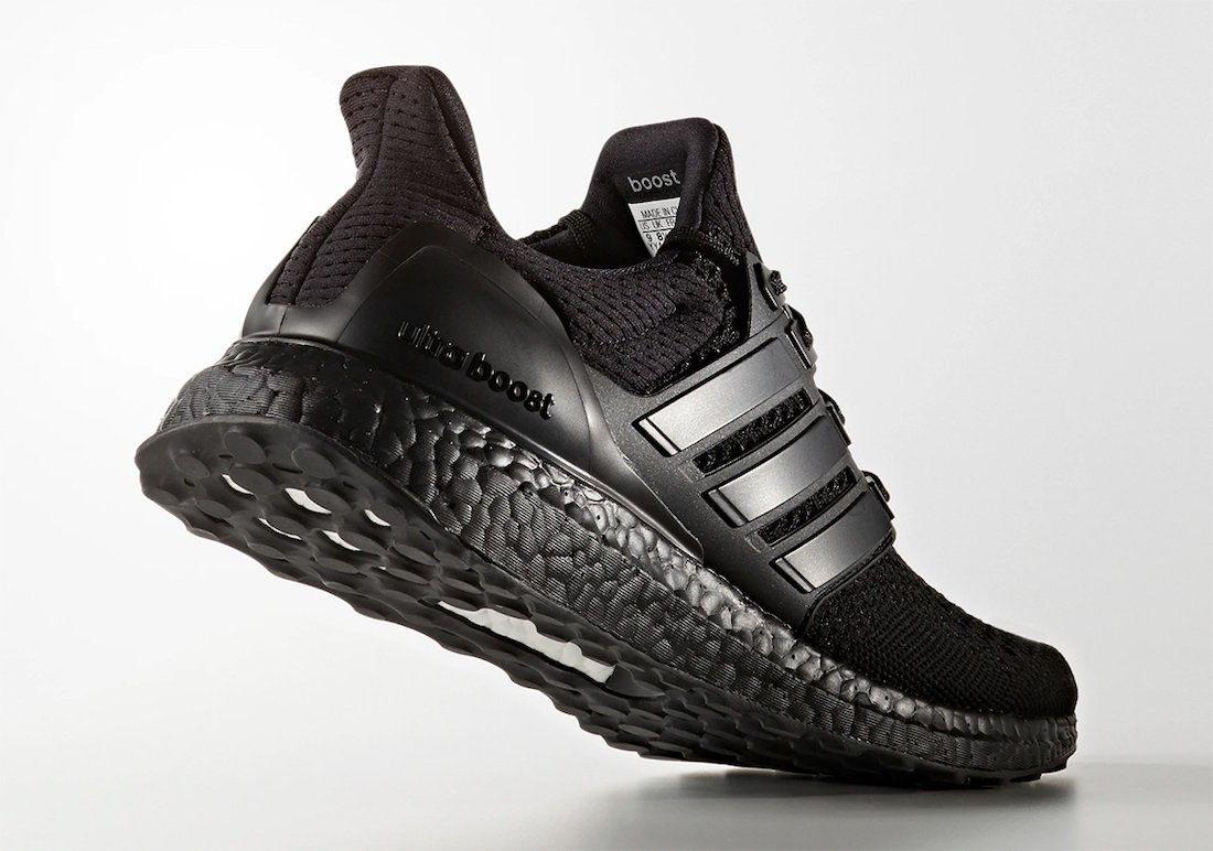adidas Ultra Boost 1.0 Triple Black BB4677 Release Date Info