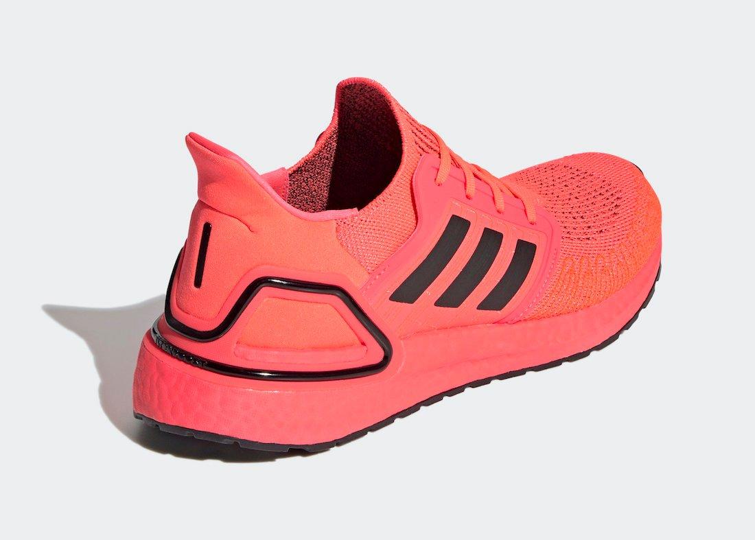 adidas Ultra Boost 2020 Signal Pink FW8728 Release Date Info