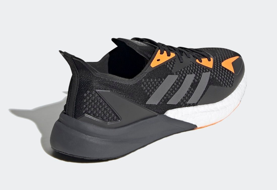 adidas X9000L3 Black Grey Orange FV4398 Release Date Info