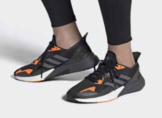 adidas X9000L3 Black Grey Orange FV4398 Release Date Info