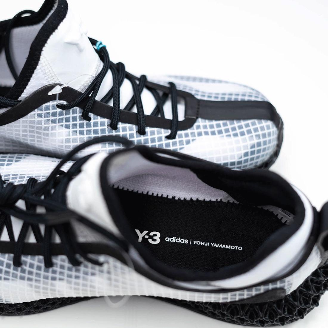 adidas Y-3 Runner 4D IO Sample 2020 Release Date Info