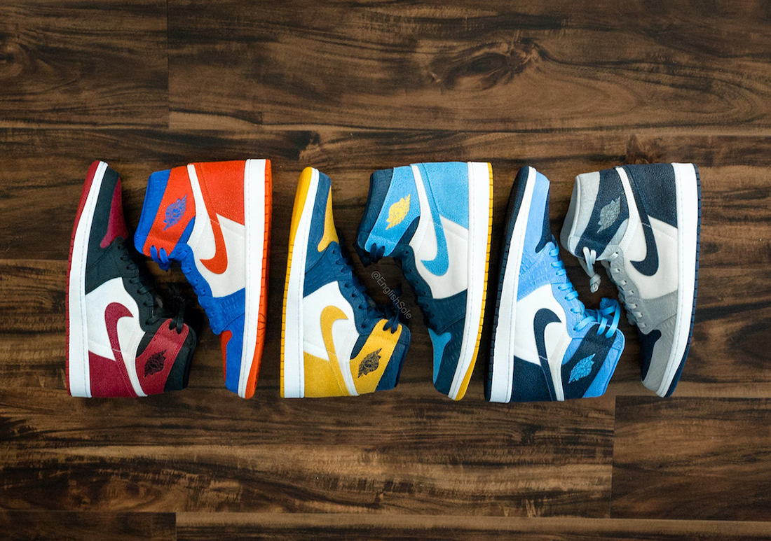 Air Jordan 1 College PE 2020 Collection