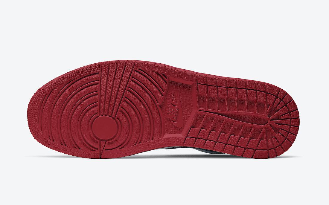 Air Jordan 1 Low White Red Black 553558-118 Release Date Info