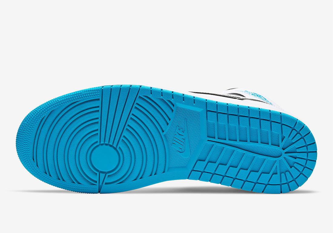 Air Jordan 1 Mid Laser Blue 554724-141 Release Date Info