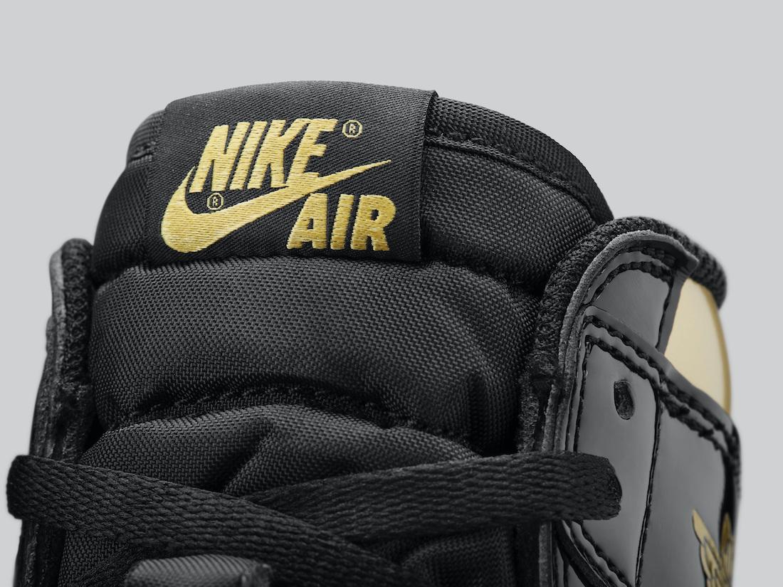 Air Jordan 1 Retro High OG Black Gold 555088-032 Release Info