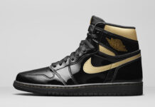 Air Jordan 1 Retro High OG Black Gold 555088-032 Release Info
