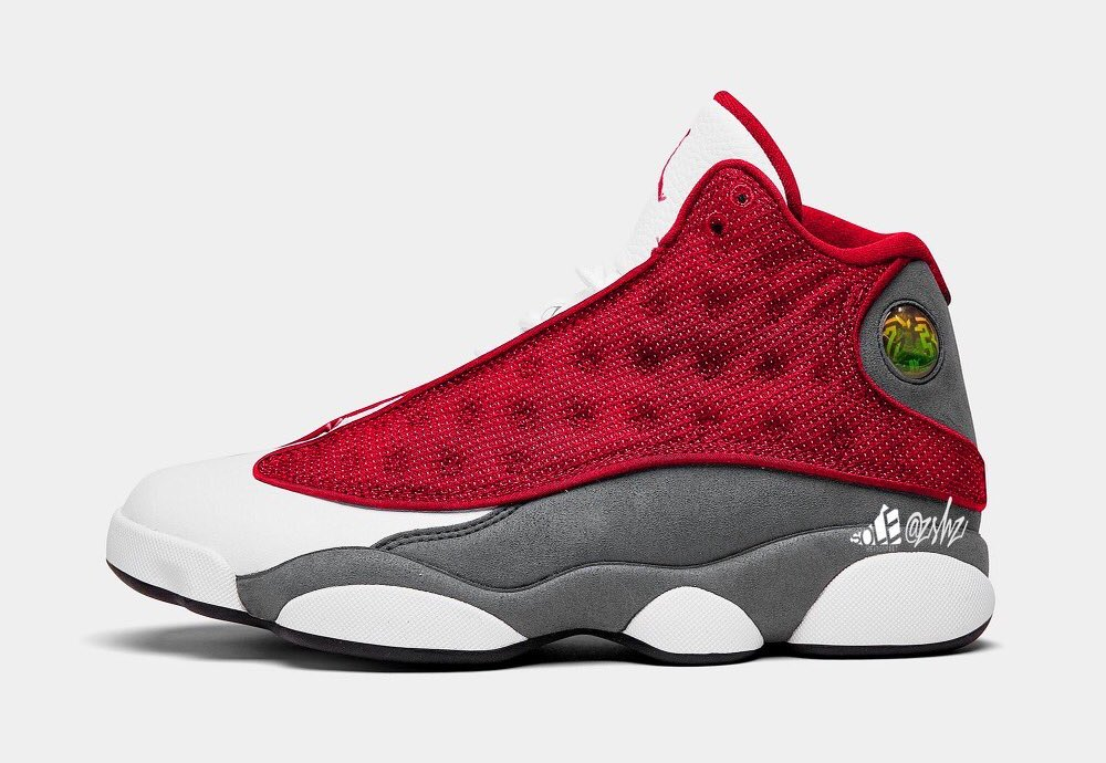 Air Jordan 13 Red Flint 414571-600 2021 Leak