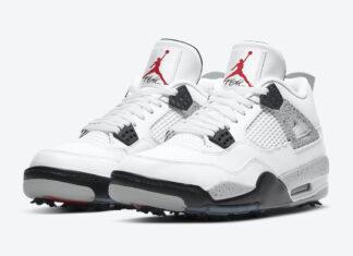 Air Jordan 4 Golf White Cement CU9981-100 Release Date