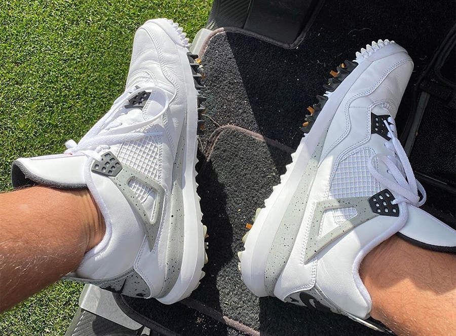 Air Jordan 4 Golf White Cement CU9981-100