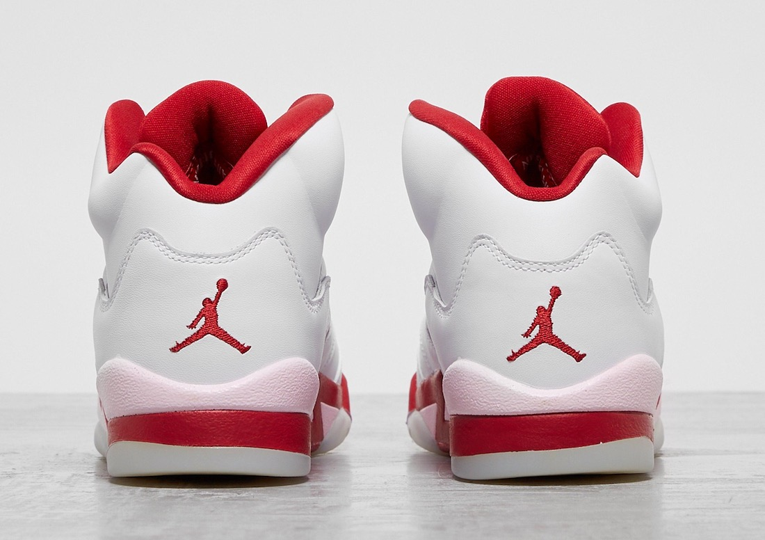 Air Jordan 5 GS White Pink Foam Gym Red 440892-106 Release Date Info