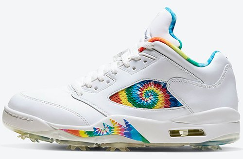 Air Jordan 5 Low Golf Tie-Dye Release Date