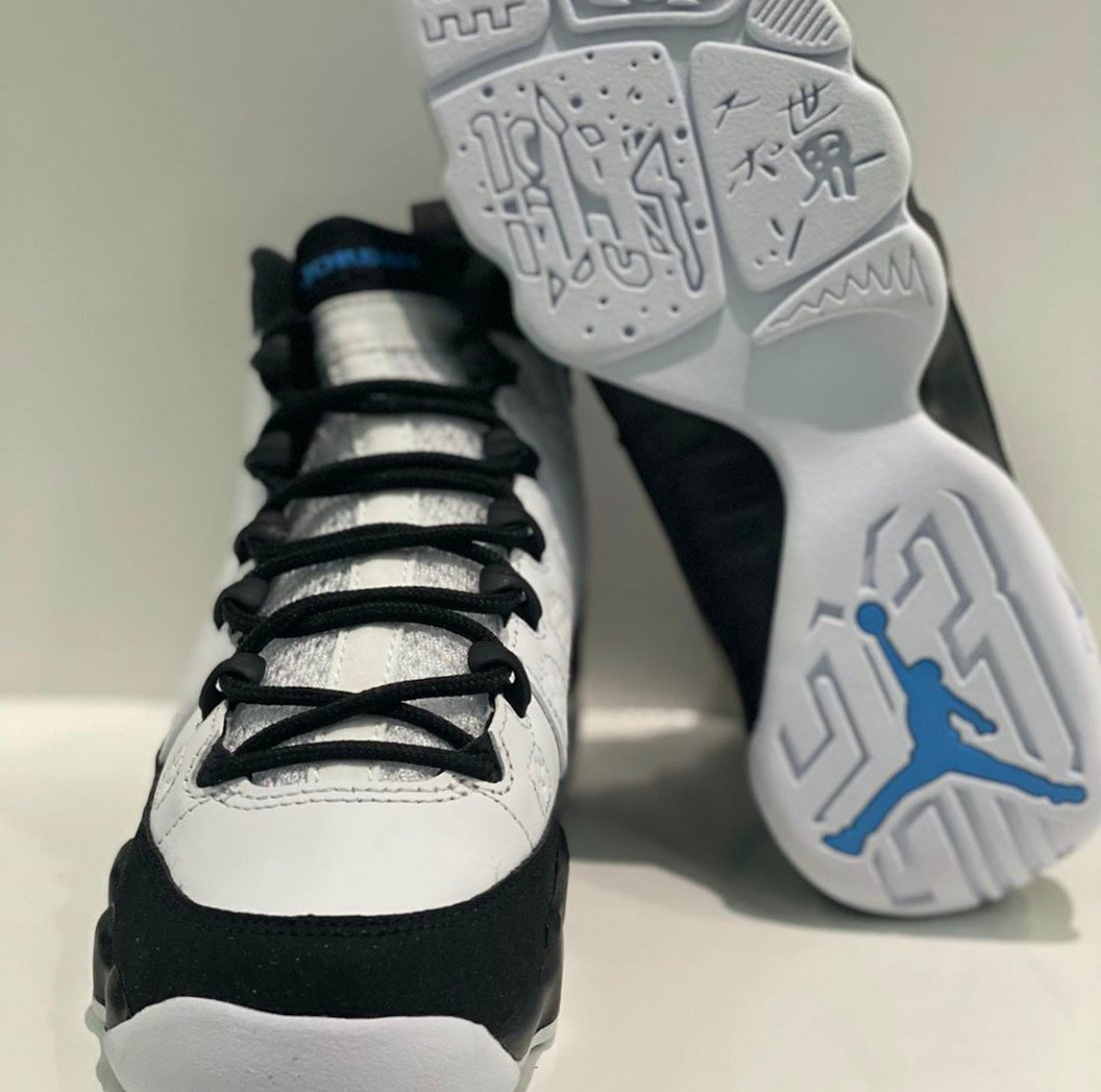 Air Jordan 9 GS University Blue Release Date