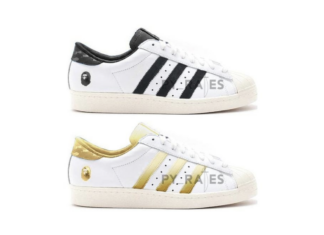 Bape adidas Superstar 80s