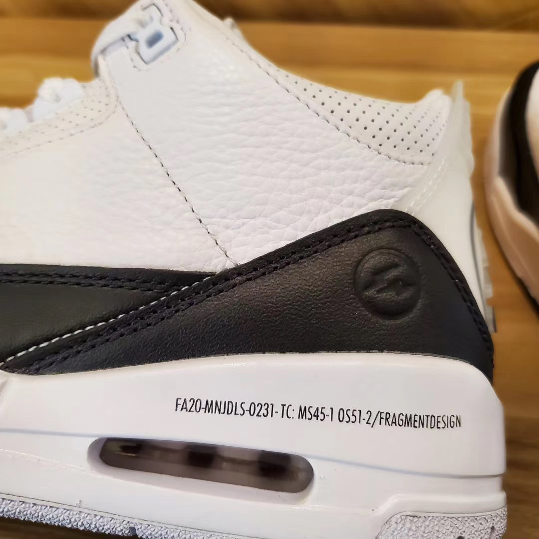 Fragment x Air Jordan 3 DA3595-100 Release Date