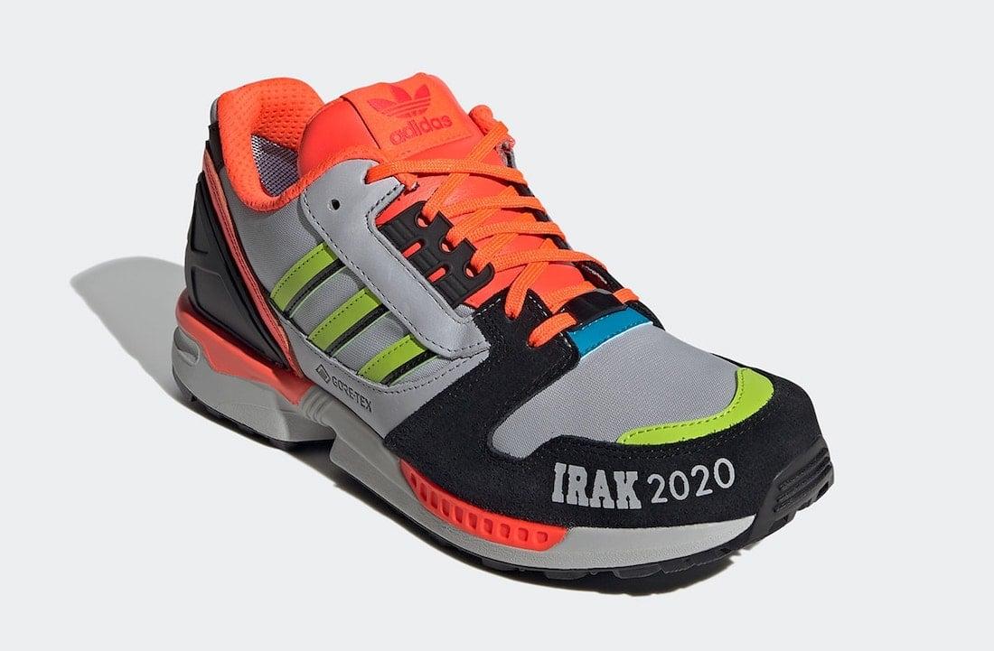 IRAK adidas ZX 8000 FX0371 Release Date Info