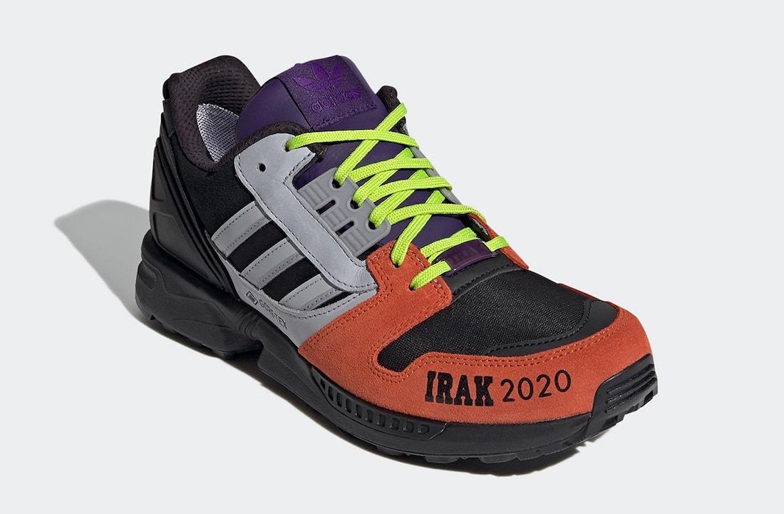 IRAK adidas ZX 8000 FX0372 Release Date Info