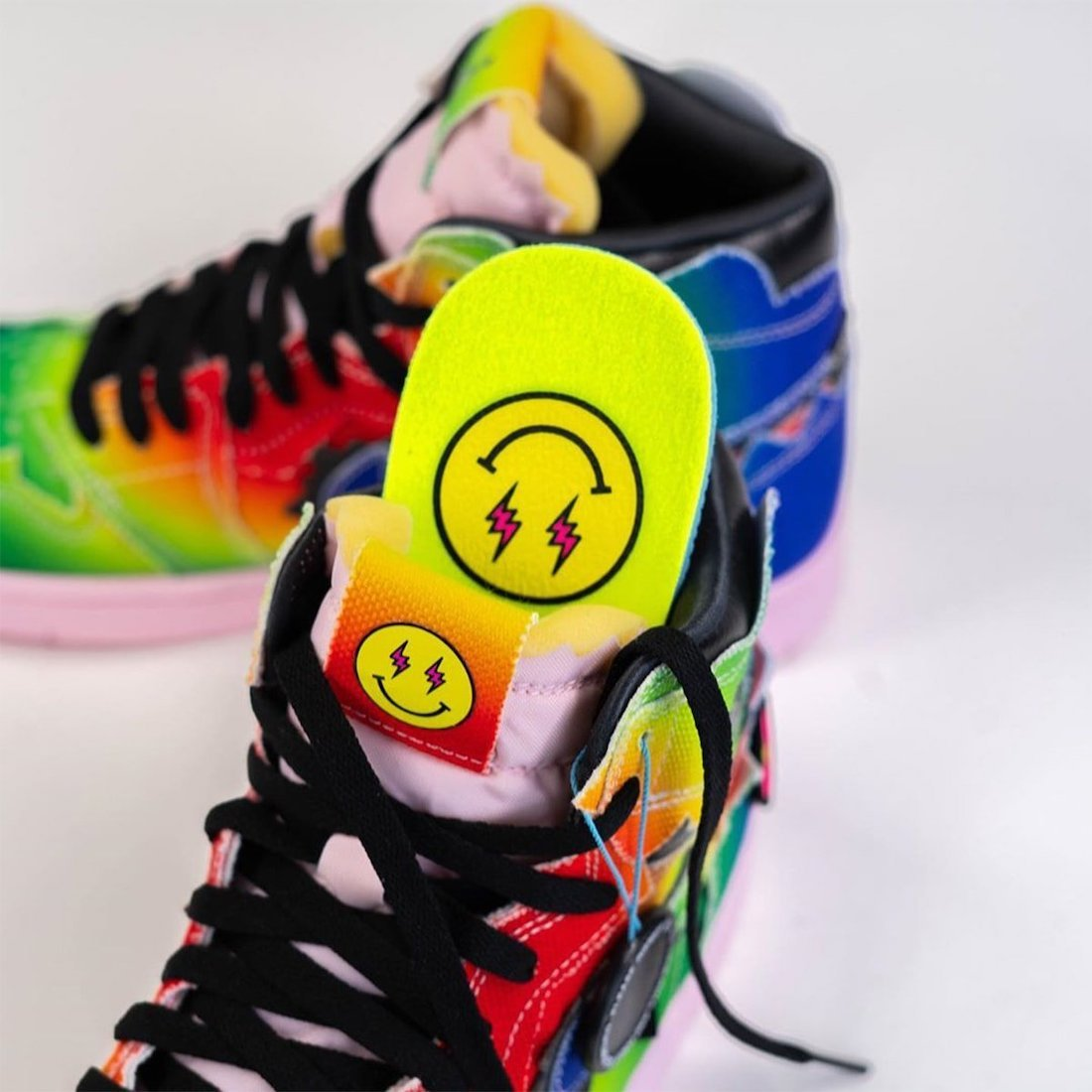 J Balvin Air Jordan 1 High DC3481-900 Release Date