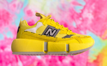 Jaden Smith New Balance Vision Racer Sunflower Yellow Release Date