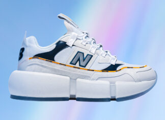 Jaden Smith New Balance Vision Racer Wavy White Release Date