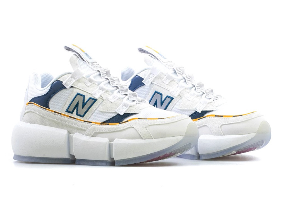 Jaden Smith New Balance Vision Racer White Navy Release Date Info