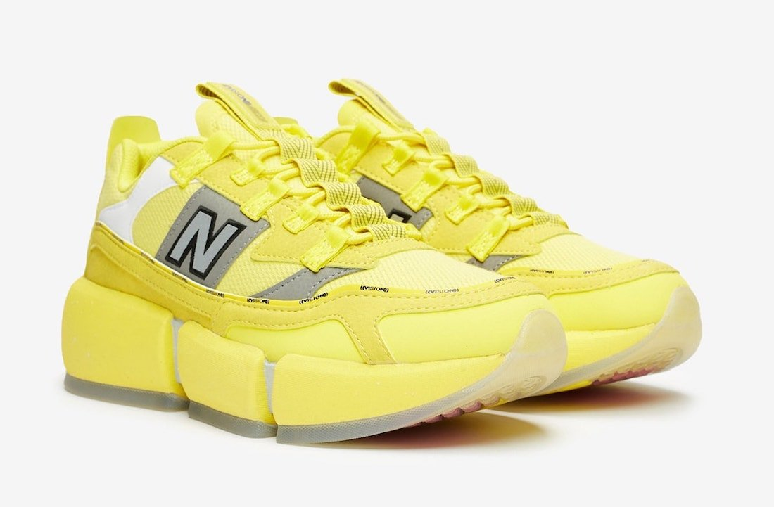 Jaden Smith New Balance Vision Racer Yellow Release Date Info