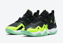 Jordan Westbrook One Take Neon Green CJ0780-003 Release Date Info
