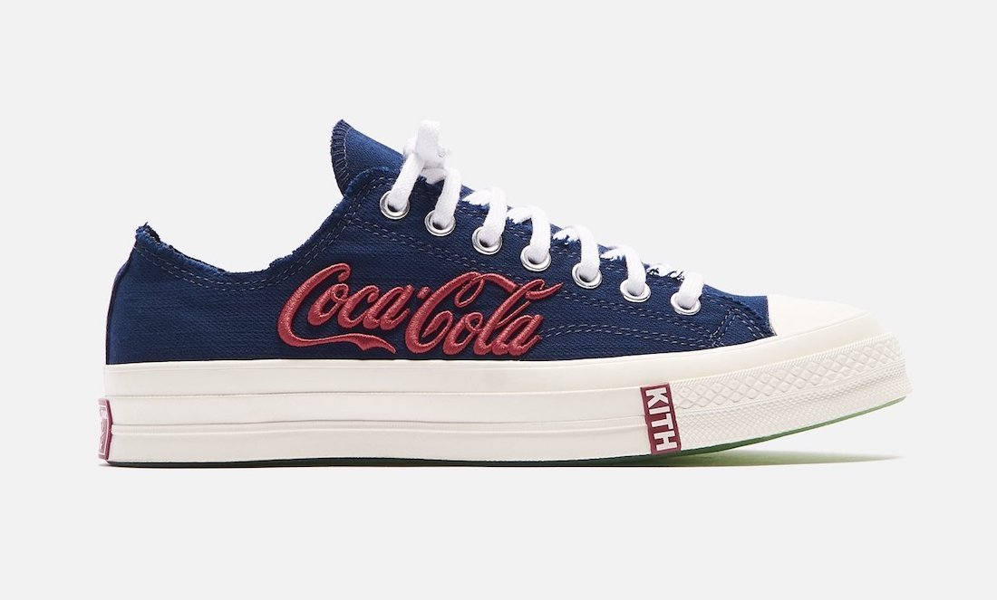 Kith Coca-Cola Converse Chuck 70 Low Release Date