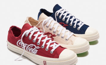 Kith Coca-Cola Converse Chuck 70 Low Release Date