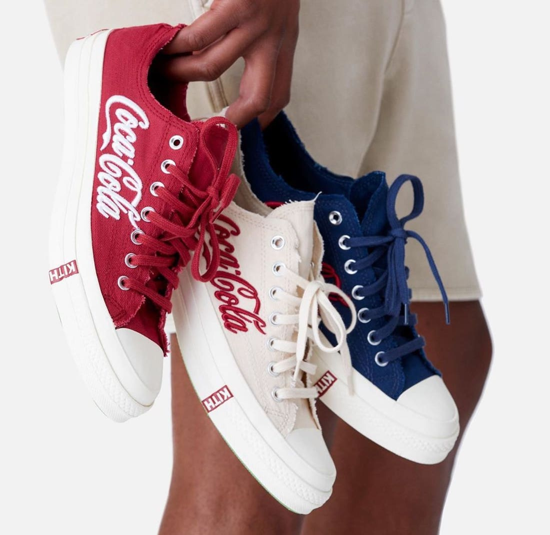 Kith Coca-Cola Converse Chuck 70 Low Release Date Info