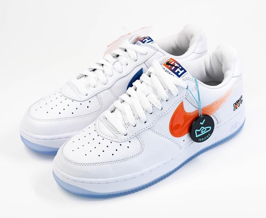 Kith Nike Air Force 1 NYC White CZ7928-100 Release Info