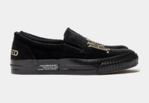 Neighborhood Slip On Black Release Date Info