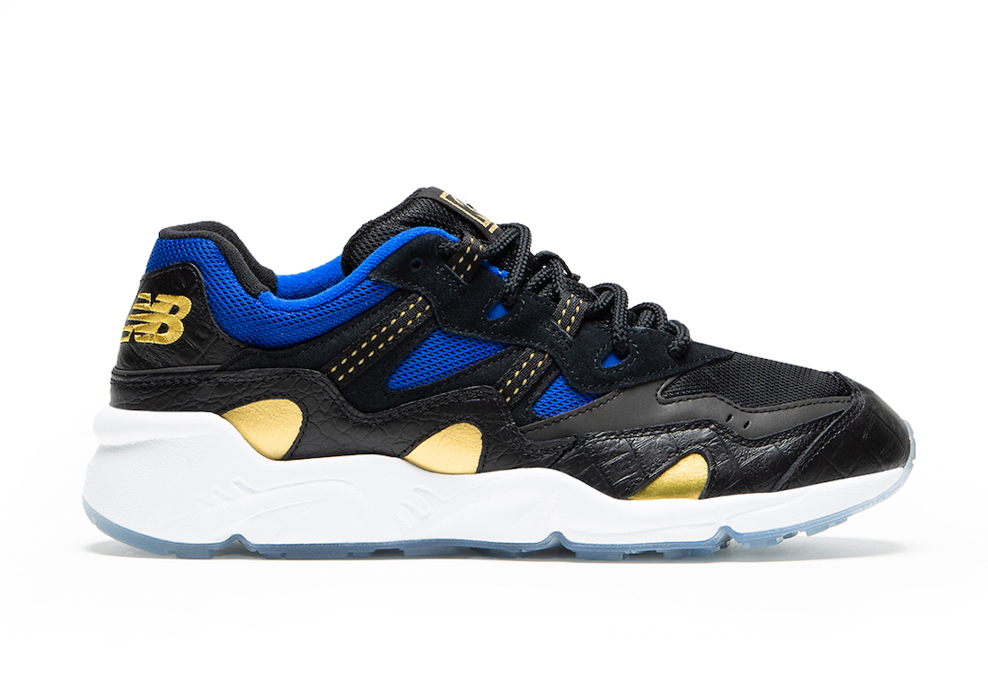 New Balance 850 Black Blue Gold Release Date Info