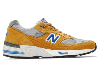 New Balance 991 Yellow Blue Release Date Info