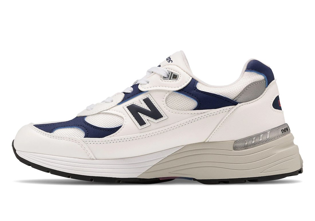 New Balance 992 White Navy Release Date Info