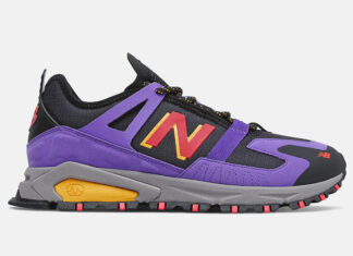 New Balance X-Racer Trail Mirage Violet Release Date Info