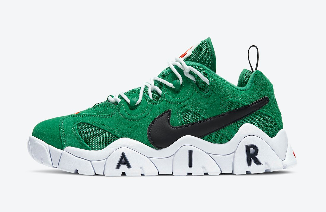 Nike Air Barrage Low Heineken CT2290-300 Release Date Info