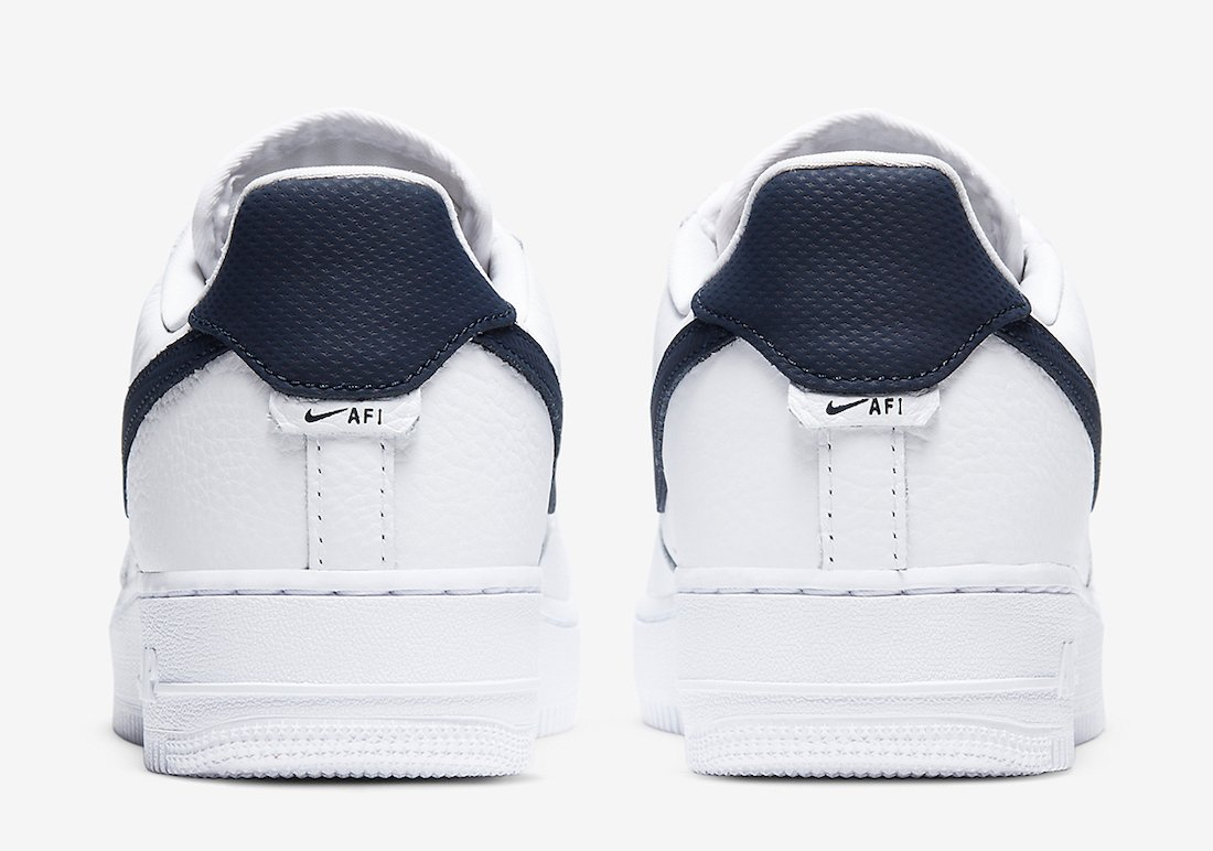Nike Air Force 1 Craft White Obsidian CT2317-100 Release Date Info