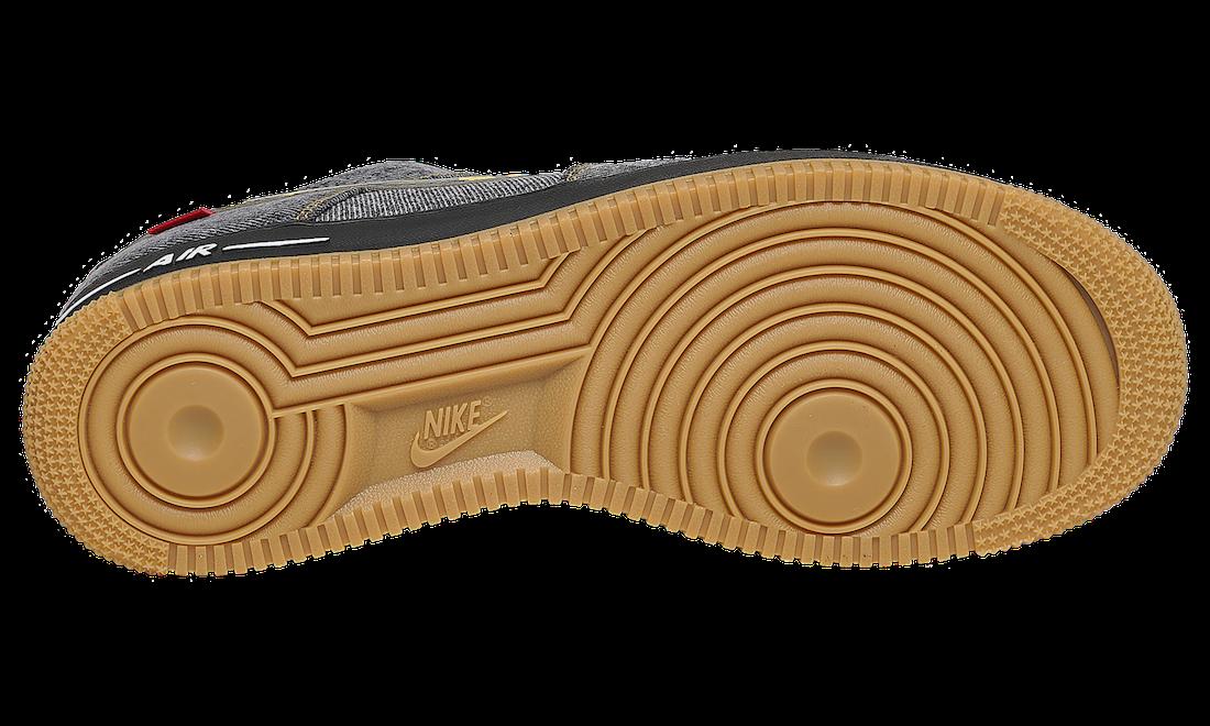 Nike Air Force 1 Denim Gum DB1964-001 Release Date Info
