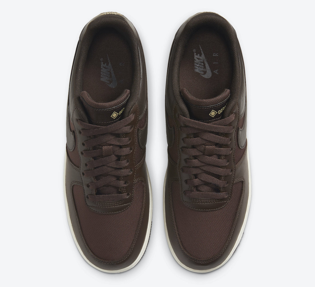 Nike Air Force 1 Gore-Tex Baroque Brown CT2858-201 Release Date Info