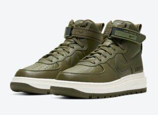 Nike Air Force 1 Gore-Tex Boot Medium Olive CT2815-201 Release Date Info