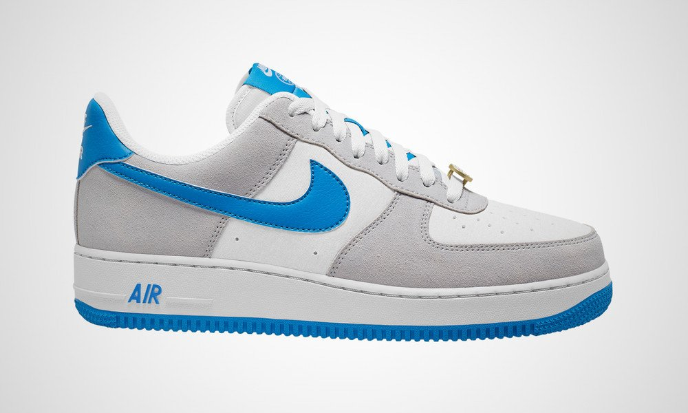 Nike Air Force 1 Grey Fog Light Photo Blue CN0844-001 Release Date Info