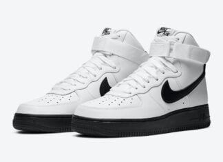 Nike Air Force 1 High White Black CK7794-101 Release Date Info