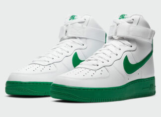 Nike Air Force 1 High White Green CK7794-100 Release Date Info