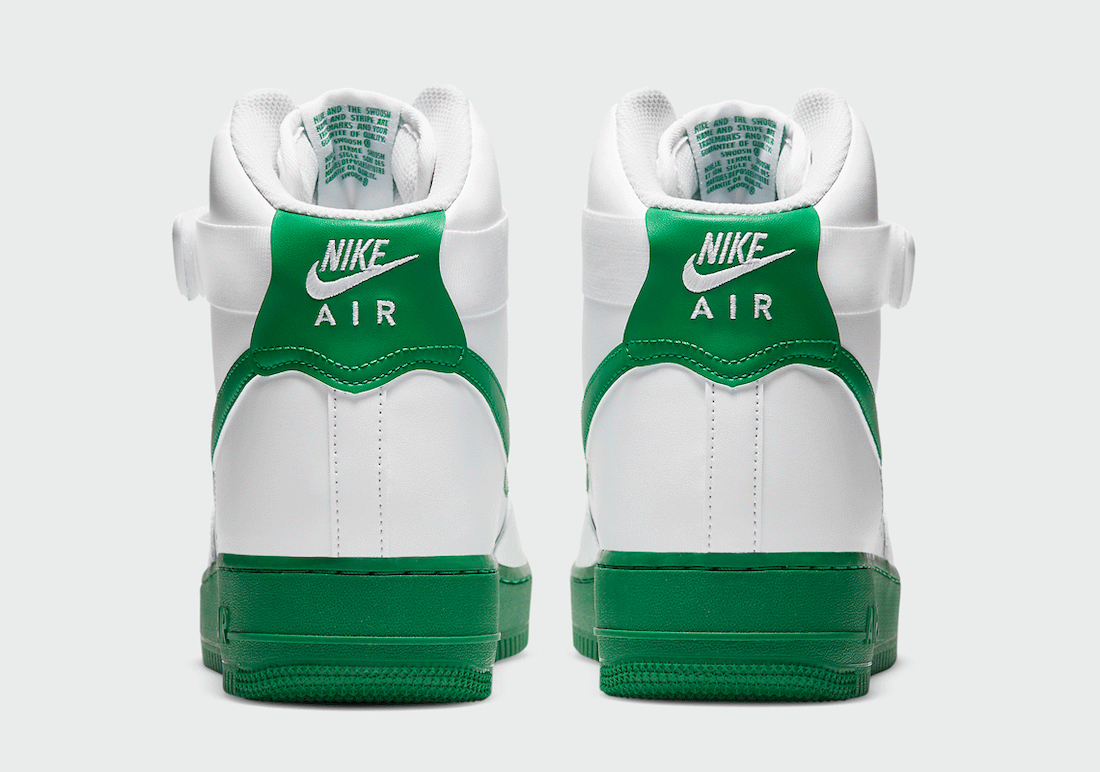 Nike Air Force 1 High White Green CK7794-100 Release Date Info