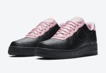 Nike Air Force 1 Low Black Pink CJ1629-001 Release Date Info