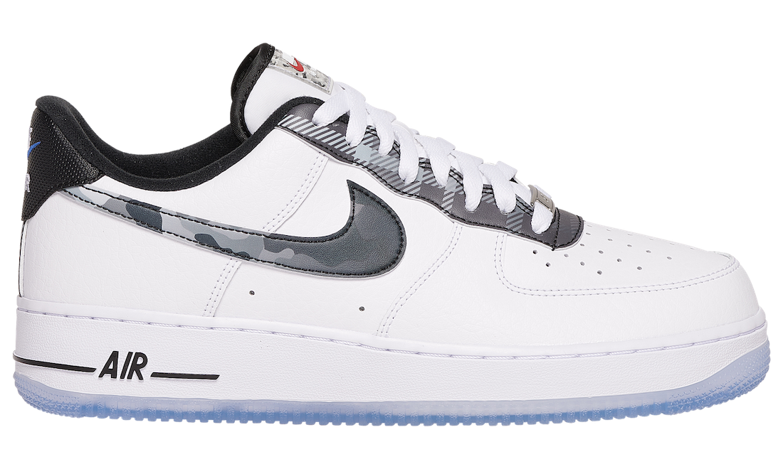 Nike Air Force 1 Low Camo Plaid DB1997-100 Release Date Info
