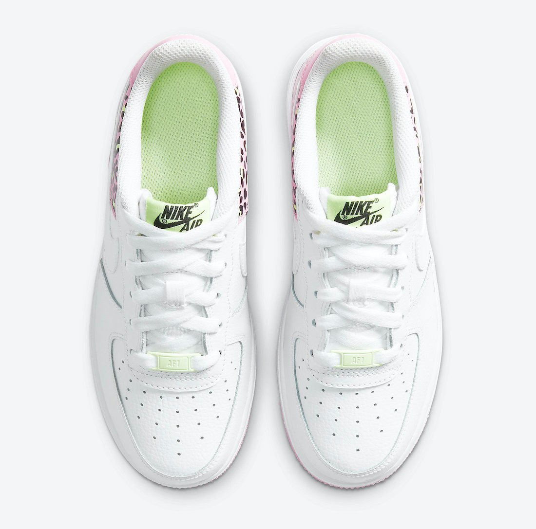 Nike Air Force 1 Low GS Pink Rise DA4673-100 Release Date Info