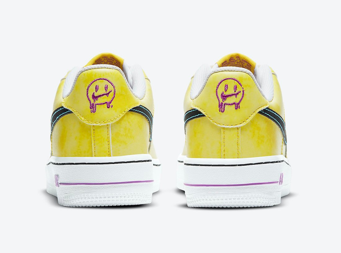 Nike Air Force 1 low Kids Melted Smiley